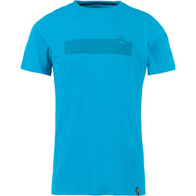 La Sportiva Pulse T-Shirt Heren, tropic blue